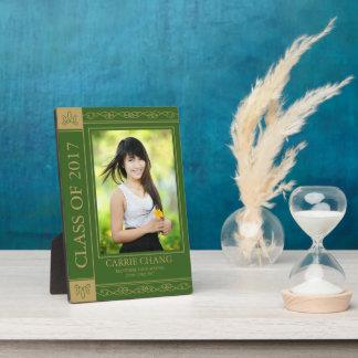 Book Cover Editable Color Graduate Photo Plaque