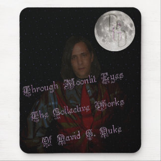 book cover front mouse pad