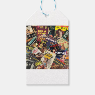 Book Cover Montage Pack Of Gift Tags