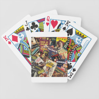 Book Cover Montage Poker Deck