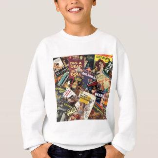 Book Cover Montage Sweatshirt