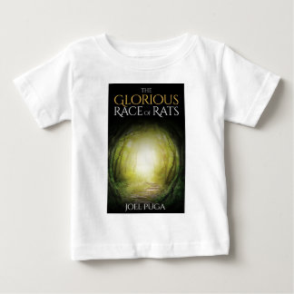"""Book cover of """"The Glorious Race of Rats"""" Baby T-Shirt"""