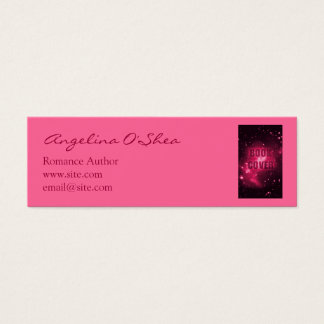 Book Cover Skinny Business Card
