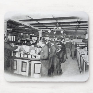 Book Department at an Army and Navy store Mouse Pad