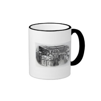 Book Department at an Army and Navy store Coffee Mug