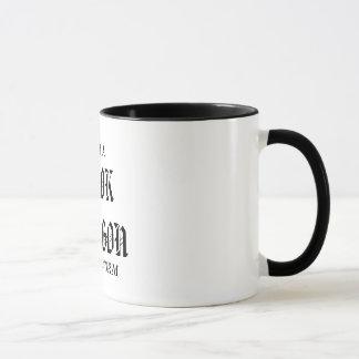 Book dragon...not a book worm. Coffee Mug