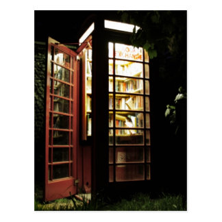Book exchange postcard