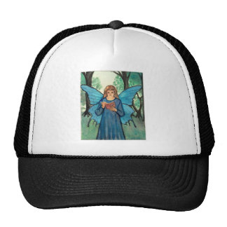 Book fairy in the forest trucker hat