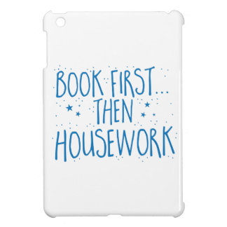 book first then housework cover for the iPad mini