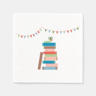 Book for Baby Shower Napkin Paper Napkin