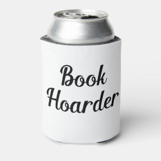 Book Hoarder Can Cooler