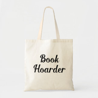 Book Hoarder Tote Bag