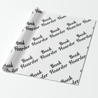Book Hoarder Wrapping Paper