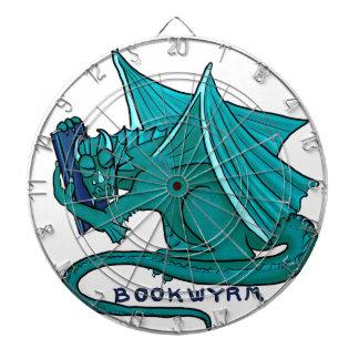 Book Hug Bookwyrm Dartboard
