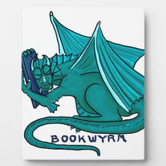 Book Hug Bookwyrm Plaque