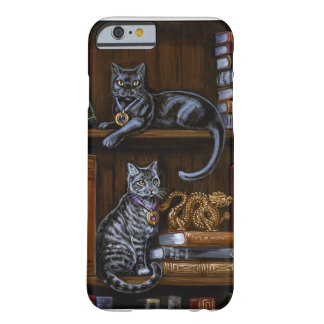 Book Keepers Library Cats iPhone 6s, Barely There Barely There iPhone 6 Case