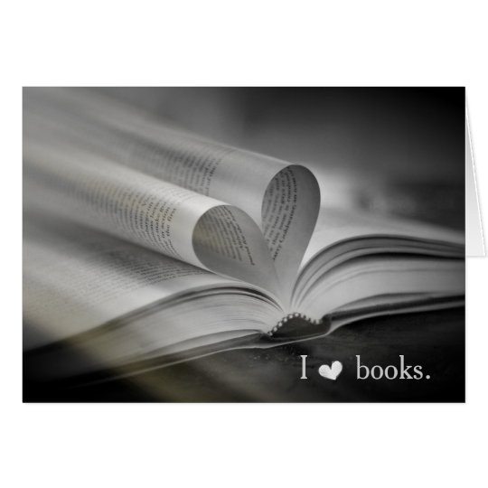 Book Love Note Cards