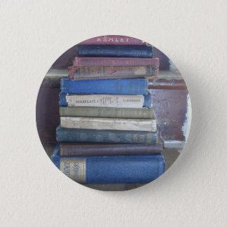 book lover 2 inch round button