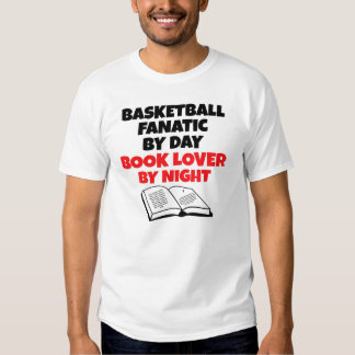 Book Lover Basketball Fanatic Shirts