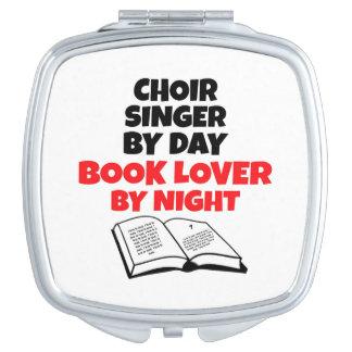 Book Lover Choir Singer Vanity Mirror