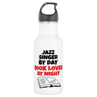 Book Lover Jazz Singer 532 Ml Water Bottle