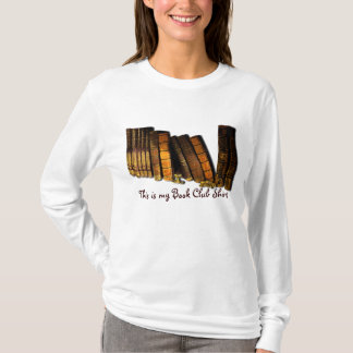 Book-Lover Reading Group Old Book Design T-Shirt