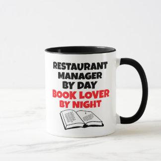 Book Lover Restaurant Manager Mug