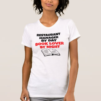 Book Lover Restaurant Manager Shirts