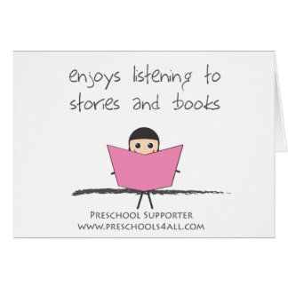 Book Lover - Single Greeting Card