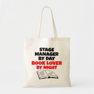 Book Lover Stage Manager Tote Bag