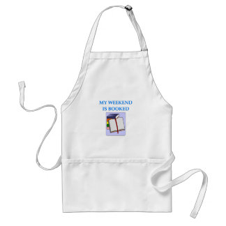 book lover standard apron