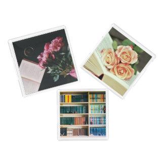 Book Lover's Acrylic Tray Set