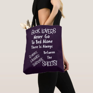 Book Lovers Funny Text Quote Tote Bag