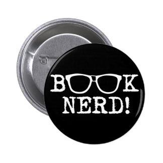 Book Nerd 2 Inch Round Button