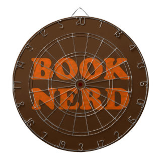 book nerd dartboard
