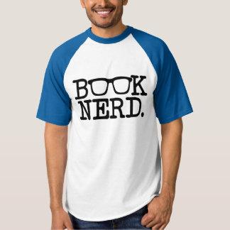 Book Nerd funny men's reader T-shirt