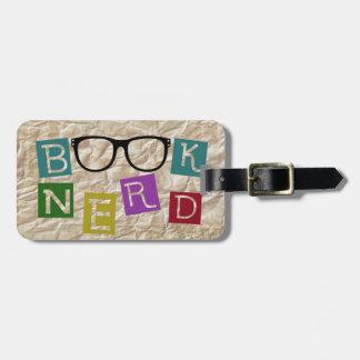 Book Nerd Luggage Tag