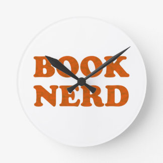 book nerd wallclocks