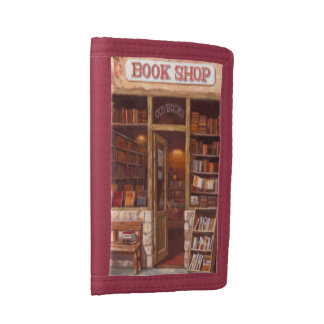 Book Obsession Trifold Wallet