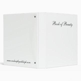 Book of Beauty Vinyl Binder