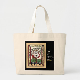 Book of Psalms tote bag