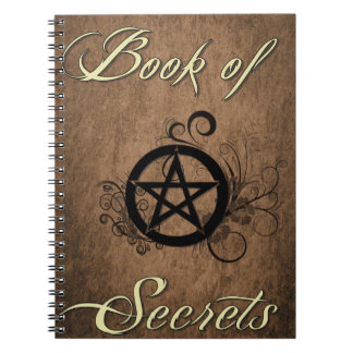 Book of Secrets notebook