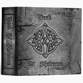 Book of Shadows 2 in. Charcoal tones 3 Ring Binder