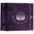 Book of Shadows 2 in. in Purple Tones 3 Ring Binder