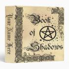 Book Of Shadows Celtic Pentacle 3 Ring Binders