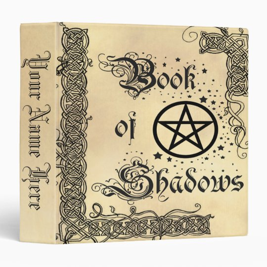 Book Of Shadows Celtic Pentacle 3 Ring Binders