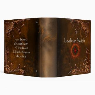"""Book of Shadows Rustic CUSTOMIZE 2"""" Binder"""