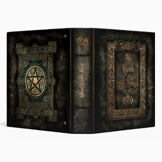 Book of Shadows Vinyl Binder