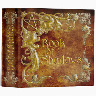 Book Of Shadows with Gold  Highlights #1 3 Ring Binders