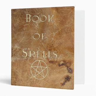 Book of Spells binder